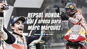 Cal y arena para Marc Márquez