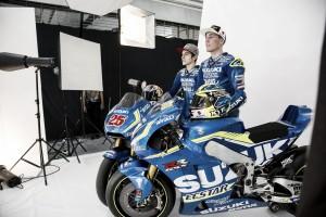 (Vídeo) Suzuki presenta el equipo de 2016