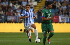 """Antunes: """"Claro que me gustaría quedarme en el Málaga"""""""