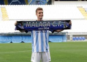 El Málaga amplía el contrato de Rescaldani