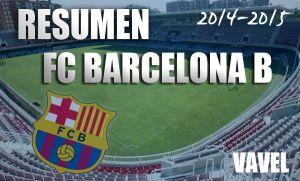 Resumen temporada 2014/15 del FC Barcelona B: caída en picado