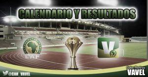 Calendario y resultados de la Copa África de Guinea Ecuatorial 2015