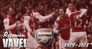 Arsenal 2014/15: el que no se consuela es porque no quiere