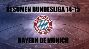 Resumen temporada 2014/2015 del Bayern de Múnich: la ópera que desafinó al final