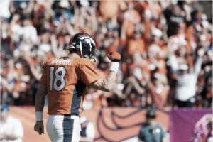 Victoria de los Broncos sobre Arizona, con récord para Peyton Manning