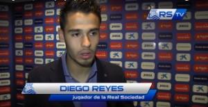 """Diego Reyes: """"Es el fruto del trabajo de esta semana"""""""