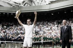 Roger Federer, le otto meraviglie a Wimbledon