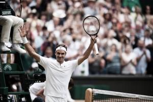 Wimbledon, Roger Federer verso l'atto finale