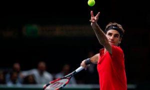 Raonic paga la novatada ante Federer