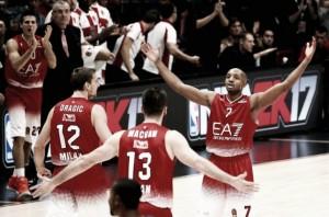 Risultato finale Darussafaka - Olimpia EA7 Milano in Eurolega 2016/17 (80-81)