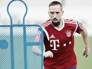 Franck Ribery wants Bayern Munich treble