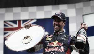 Daniel Ricciardo regresa de vacaciones con fuerza en las Ardenas