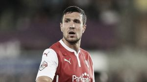 Fleetwood Town sign defender Richard Wood on one month loan