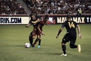 Alex strike enough for Houston Dynamo to end Real Salt Lake's unbeaten run at home