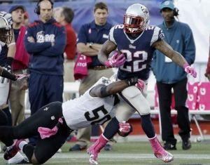 Ridley se luce en la victoria de los Patriots sobre los Saints