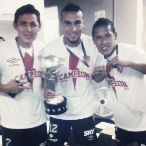 Carlos Ramos y Abraham Riestra fueron sancionados