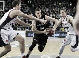 Victoria de Bilbao Basket que afianza sus opciones de copa