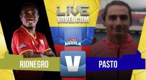Resultado Rionegro Aguilas 0-0 Deportivo Pasto en Liga Águila 2018