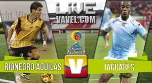 Resultado Final: Rionegro vs Jaguares, enfrentamiento por la Liga Águila 2016-1
