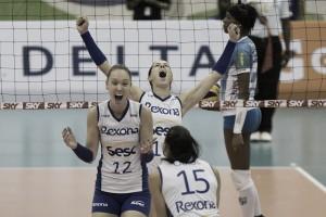 Rio supera Minas no quinto jogo e vai à decisão da Superliga Feminina de Vôlei
