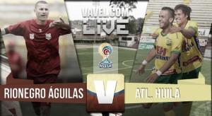 Resultado Rionegro Águilas - Atlético Huila en la Liga Águila 2016-I (3-1)