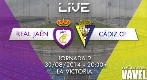 Real Jaén - Cádiz en directo online