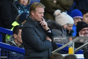 """Don't talk about positives"" says Ronald Koeman as Everton slide into relegation zone"