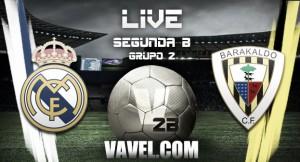Resultado Real Madrid Castilla 0-0 Barakaldo en Segunda B 2015