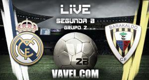 Real Madrid Castilla vs Barakaldo en vivo y en directo online