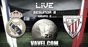 Real Madrid Castilla - Bilbao Athletic en vivo y en directo online (2-2)