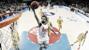 Herbalife Gran Canaria - Real Madrid: primer match ball