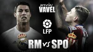 Real Madrid - Sporting de Gijón: objetivo, corroborar la mejoría