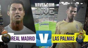 Resultado Real Madrid vs UD Las Palmas en la Liga BBVA 2015 (3-1)