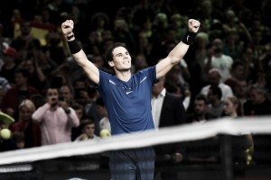 Atp Parigi-Bercy, Nadal vince e chiude al numero uno. Fuori Zverev e Tsonga