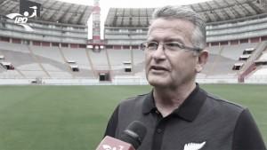 """Gerente de Nueva Zelanda: """"El Estadio Nacional de Lima es hermoso"""""""
