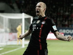 Robben reflects on his fitness and a fantastic 2014