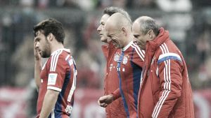 Arjen Robben ruled out for several weeks with stomach muscle tear in shock defeat