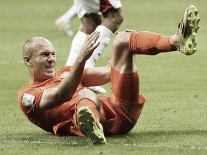 Robben jugará en Cardiff, pero no en Hánover