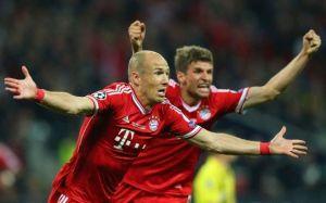 El Bayern se exhibe en Dortmund