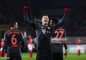 FSV Mainz 05 1-3 Bayern Munich: Bavarians overcome early setback to reclaim top spot