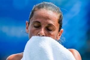 WTA New Haven, Roberta Vinci cede a Johanna Larsson