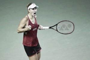 WTA Tokyo: Angelique Kerber edges past Karolina Pliskova