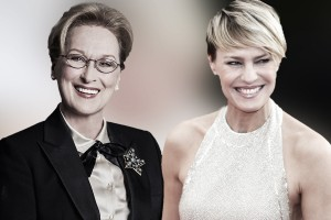 Meryl Streep e Robin Wright virão ao Brasil em maio