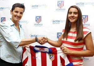Rocío Gálvez da el salto al Atlético de Madrid