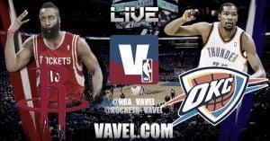 Oklahoma City Thunder vs Houston Rockets en vivo y en directo online