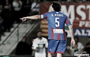 """Héctor Rodas: """"Tenía ganas de volver a jugar un partido con los compañeros"""""""