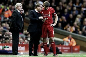 "Rodgers hails ""special quality"" of Steven Gerrard ahead of FA Cup semi-final"