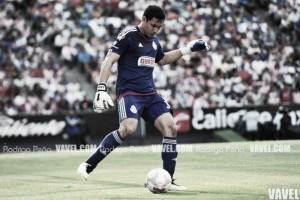 Números en la meta 'Rojiblanca: Rodolfo Cota y Miguel Jiménez