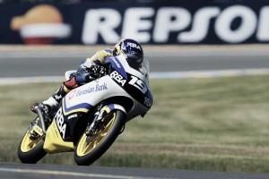 Moto3 - Pole di Rodrigo a Brno, Fenati secondo e Mir indietro