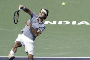 Un Federer imperial baja de la nube a Raonic